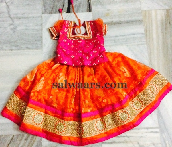 Jute Net Lehenga With Rich Blouse