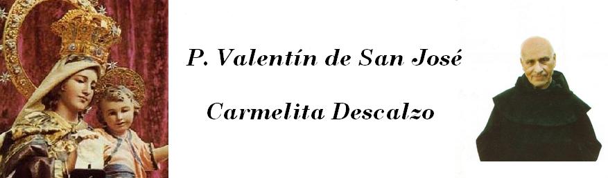 Padre Valentín de San José OCD
