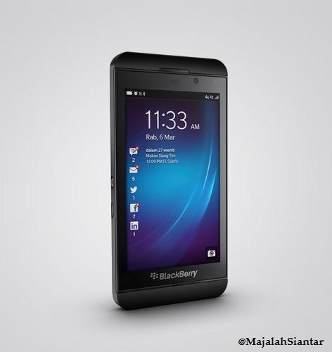 BlackBerry Z10 Tak Lagi Produk RIM