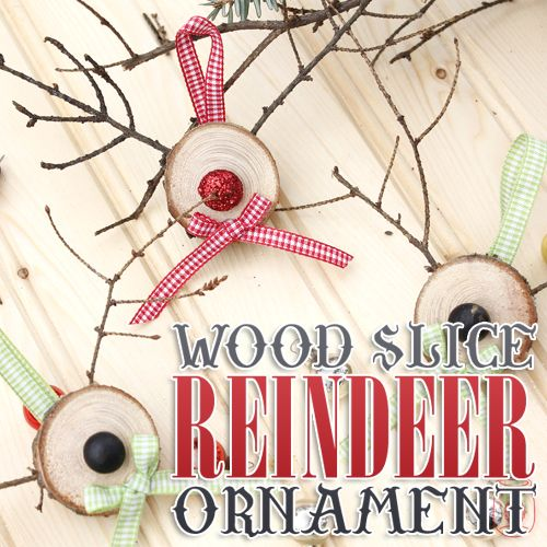 Inspired by pinterest holiday wood slice projects for Pinterest wood crafts for christmas