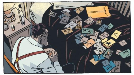 "Viñeta de ""Grima"" de John Arcudi y Jonathan Case"
