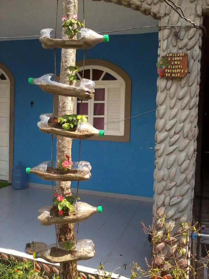 mini jardins em vaso:Reclicando: Jardins e Hortas