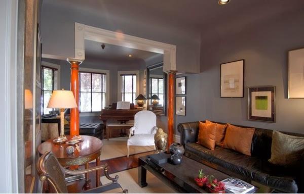 Fascinants salons avec l 39 accent du gris d coration salon d cor de salon for Decoration du salon