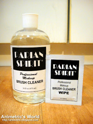 Parian Spirit Professional Make-Up Brush Cleaner