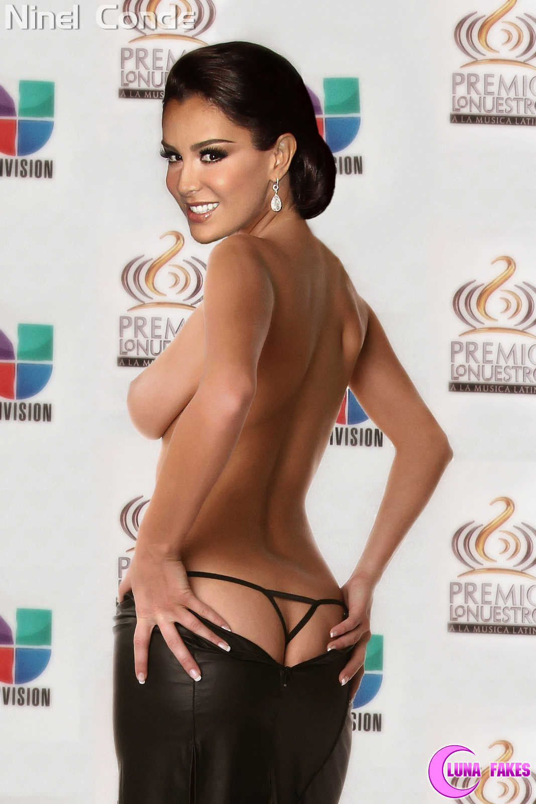De Ninel Conde Luna Fakes Lunafakes Desnuda