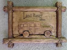Land Rover em miniatura