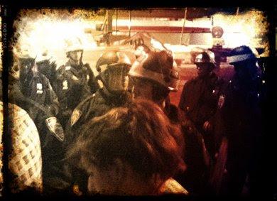Cops clear Zuccotti