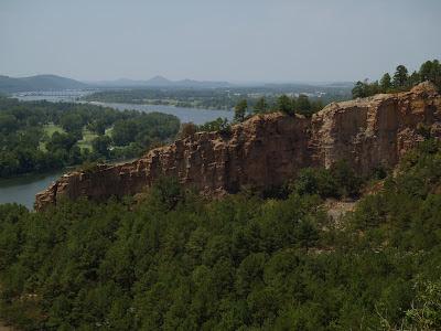 Emerald Park Cliffs Arkansas River Little Rock