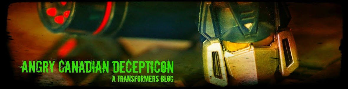 A Transformers Blog - Angry Canadian Decepticon