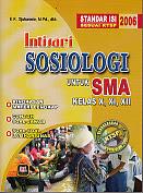 toko buku rahma: buku INTISARI SOSIOLOGI UNTUK SMA KELAS X, XI, XII, pengarang djuharmie, penerbit pustaka setia