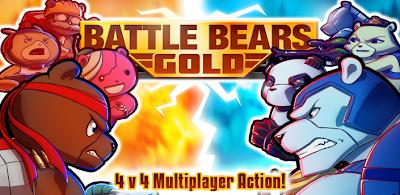 Battle Bears Gold Mod Apk v2.1 Unlimited Ammo + Unlocked All Items