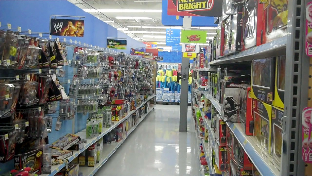 Toys For Walmart : The body is many wal mart toy aisle sin