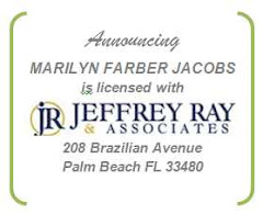 Realtor MARILYN FARBER JACOBS is licensed with JEFFREY RAY & ASSOCIATES, PALM BEACH