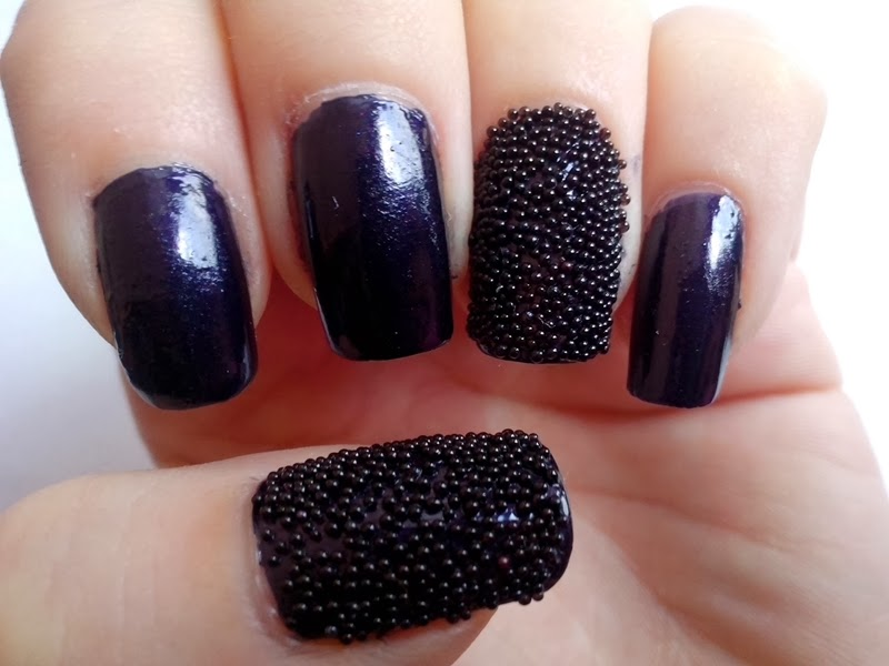 black caviar nails avon city navy