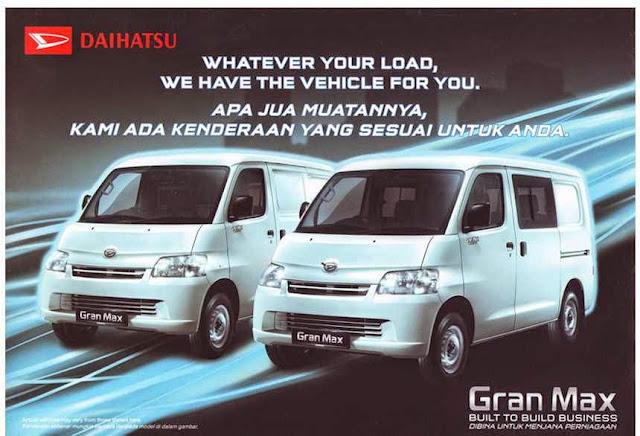 Mobil Angkutan Penumpang Daihatsu Gran Max