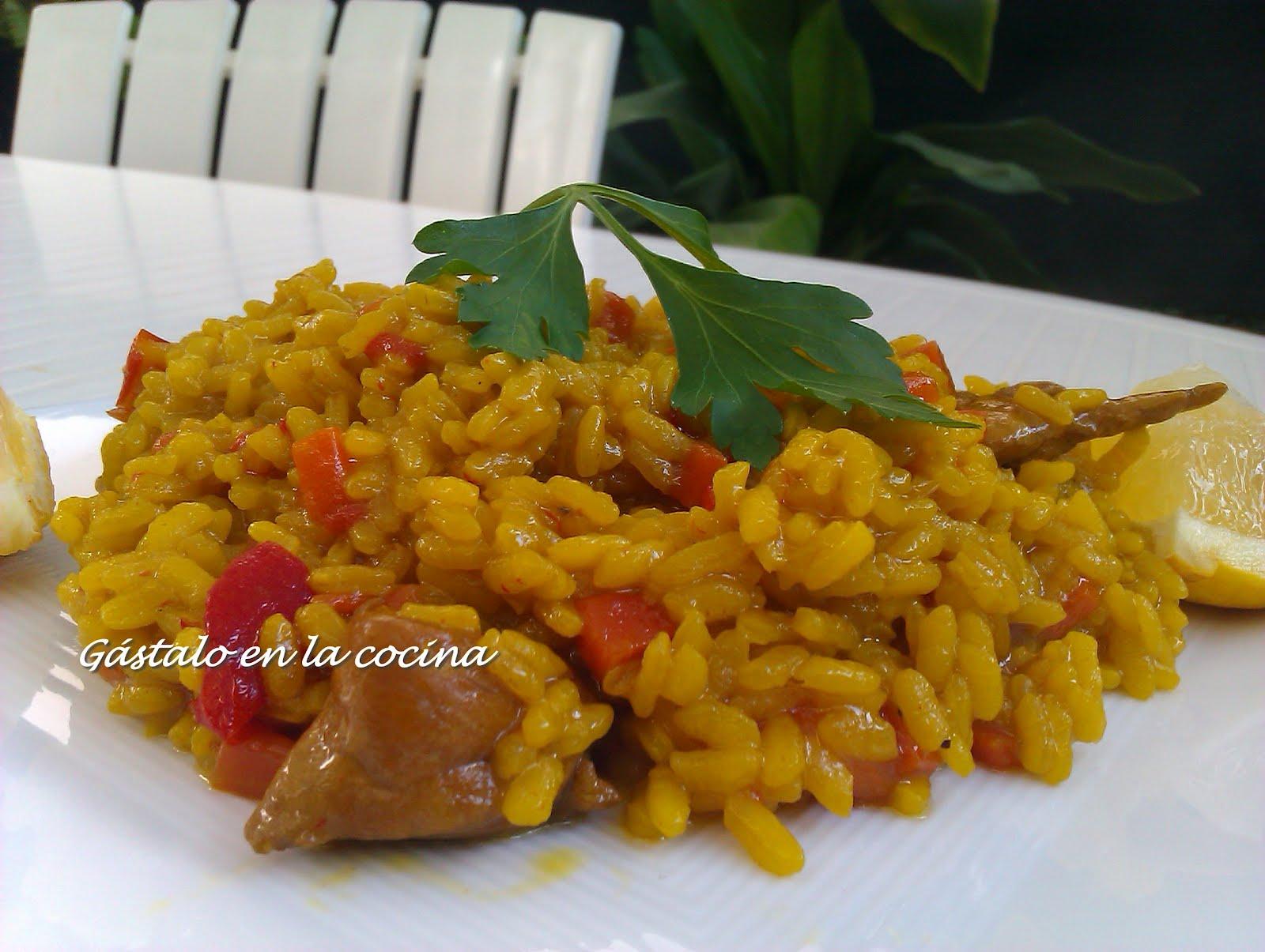 G stalo en la cocina arroz con pollo f cil for Como se cocina el arroz