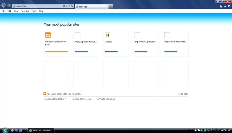 Internet Explorer images Screenshot for Internet Explorer 9 for