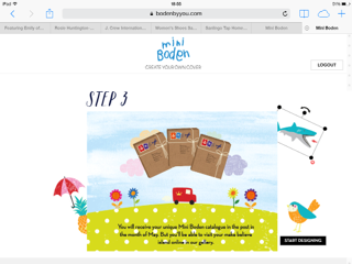 Mini 39 s fashion file create your own boden cover for Mini boden germany