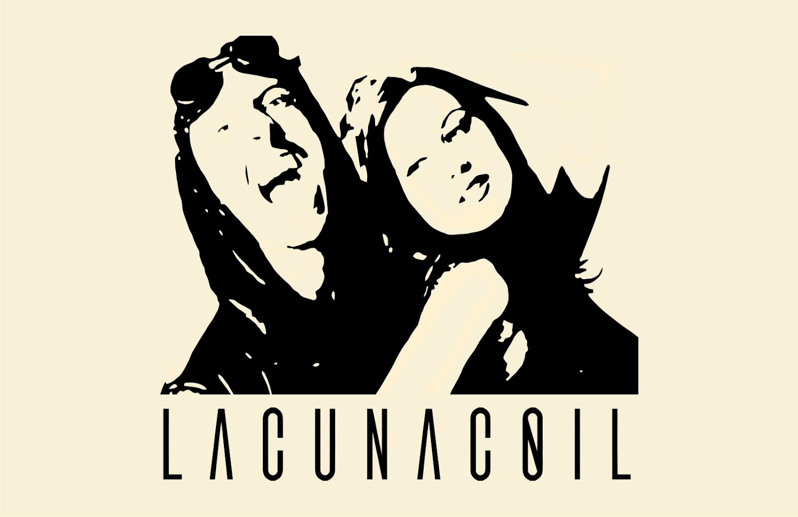 Lacuna Coil Logo Vector T Shirts