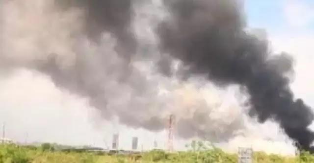 Μεγάλη έκρηξη σε στρατιωτική μονάδα στο Δυρράχιο στην Αλβανία (Βίντεο)