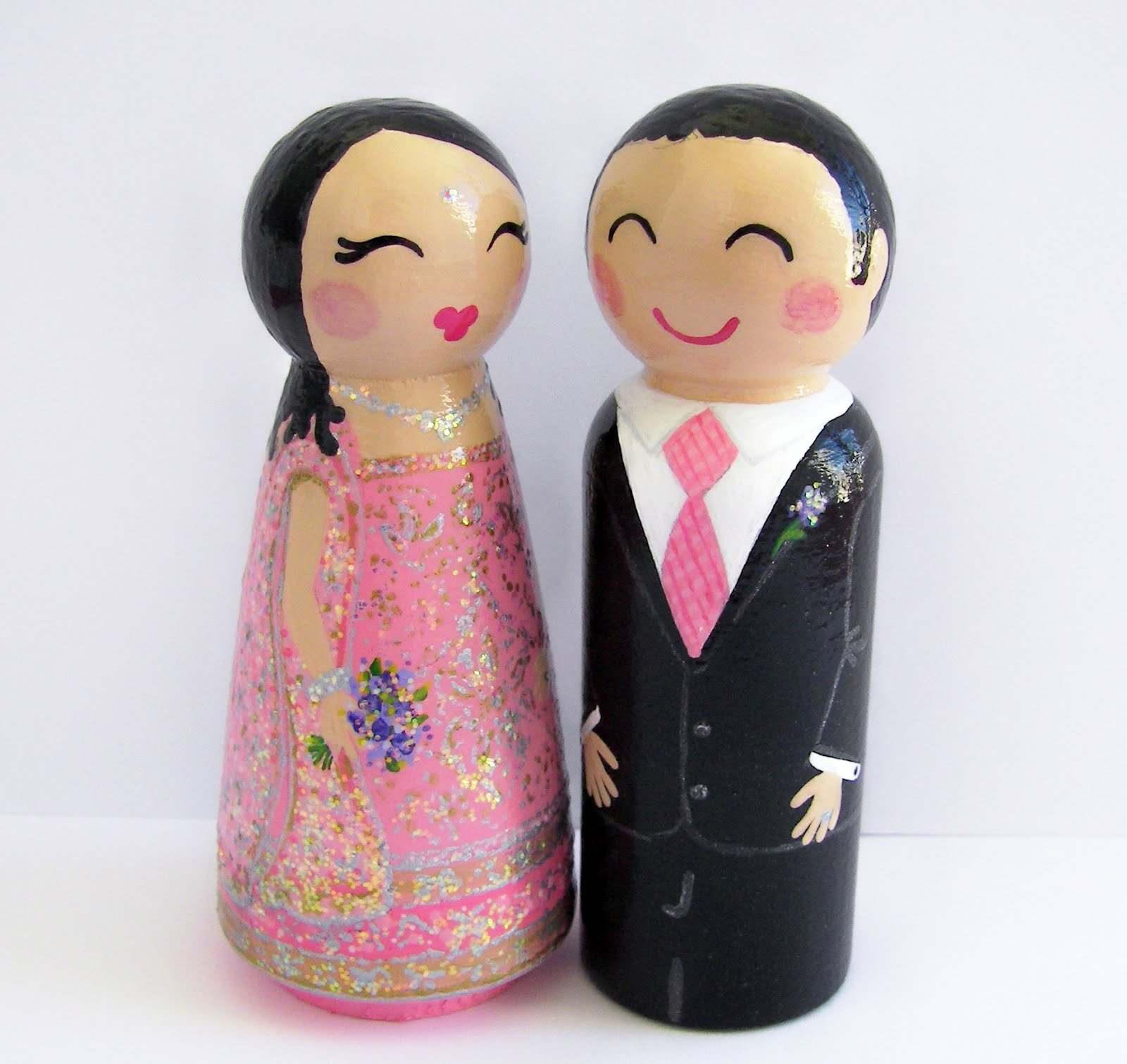 personalised cake toppers wedding