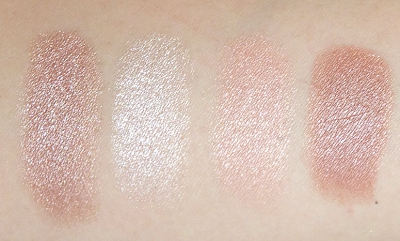 MAC Definitely Defined,MAC  Suberb, Estée Lauder Shimmering Sands