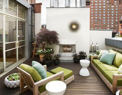 Fotos de terrazas terrazas y jardines modelos de for Modelos de casas con terrazas modernas