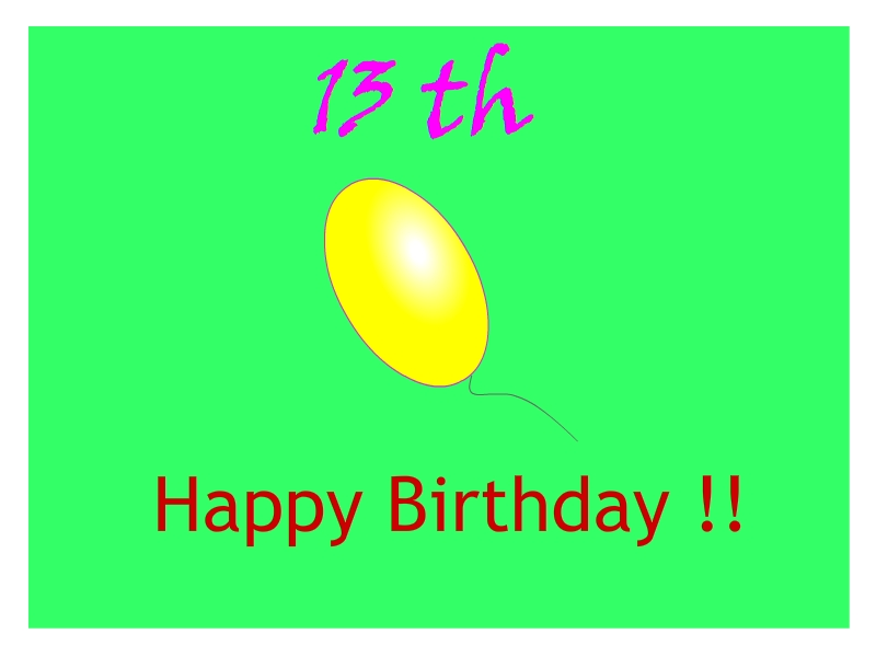 Wishes and Quotes 13th Birthday Wishes and Quotes for Girls – 13th Birthday Greetings