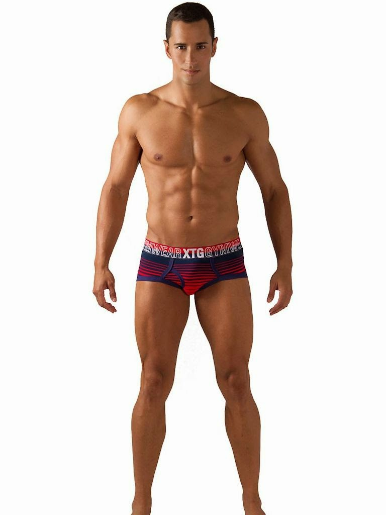 XTG Line Gym Brief Gayrado