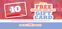 image Shoppers Drugmart Optimum Free $10 event Banner