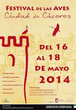 FESTIVAL DE LAS AVES DE CACERES 2014.
