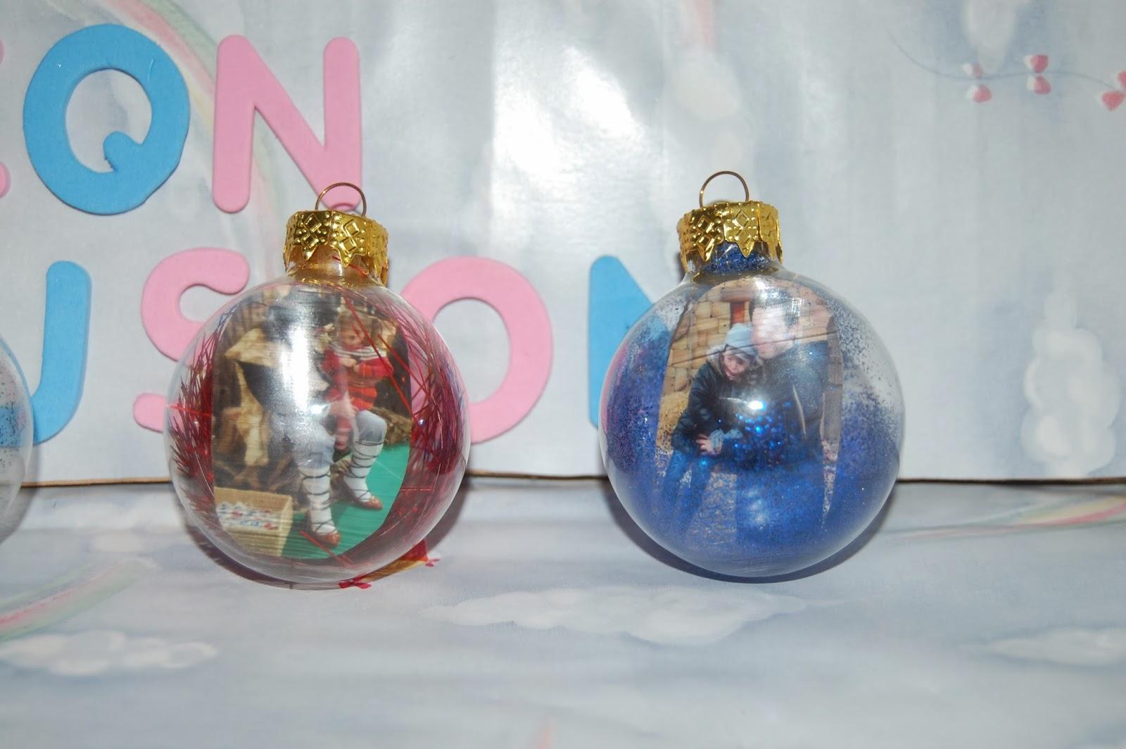 Manualidades con ilusion bolas de navidad personalizadas - Bolas arbol navidad manualidades ...