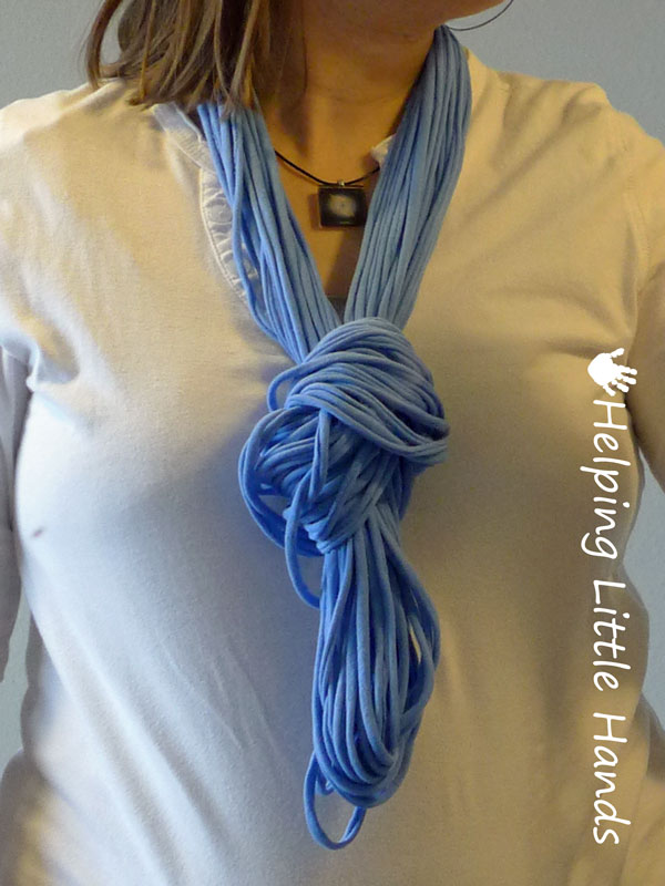 Pieces By Polly No Sew T Shirt String Infinity Scarves