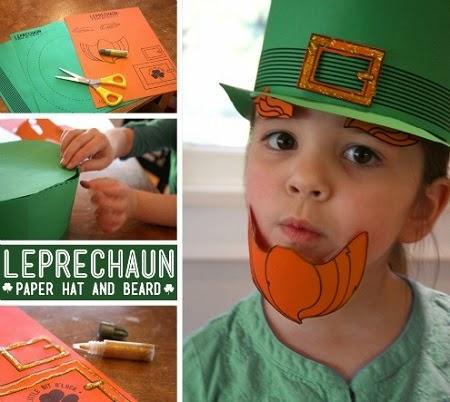 Duende de Papel para el Dia de San Patricio o St. Patrick's day