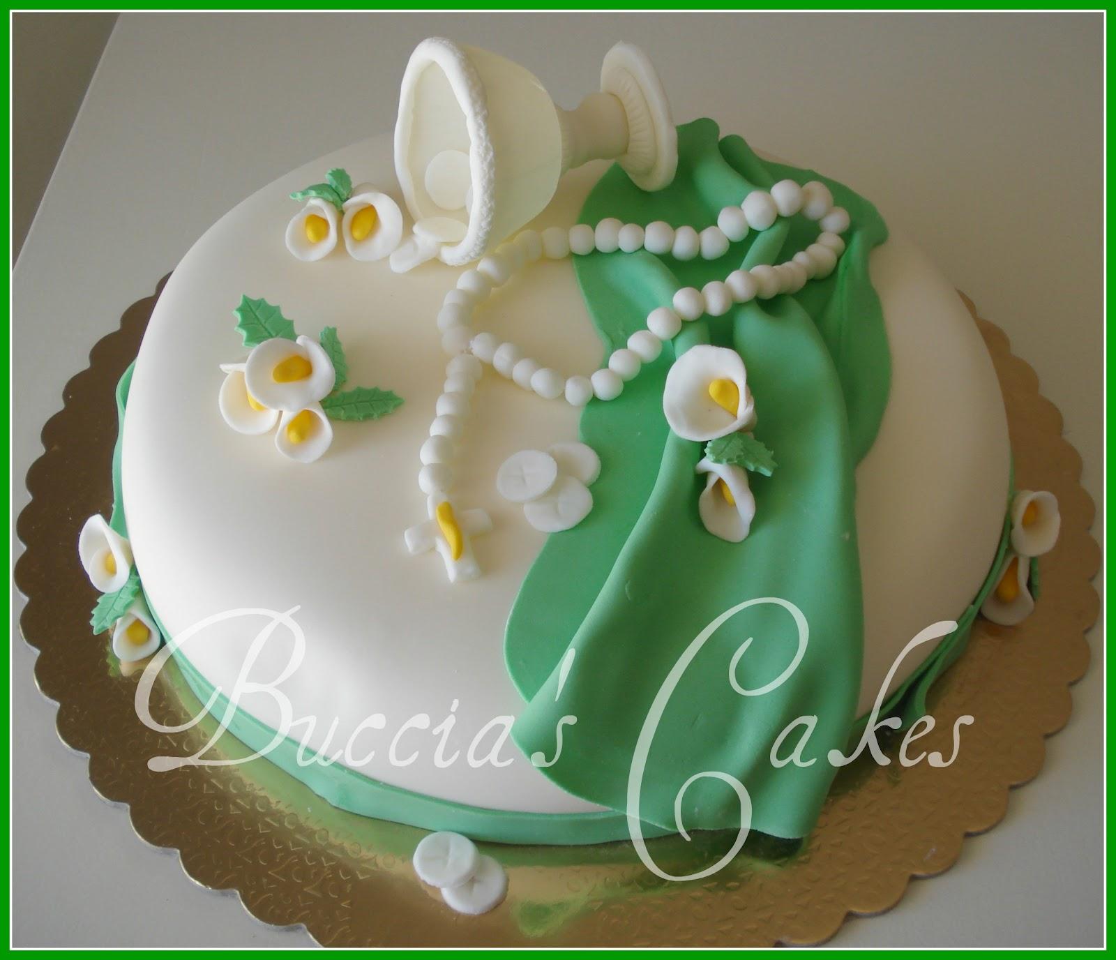 Buccia 39 s cakes torta cresima - Decorazioni per cresima ...