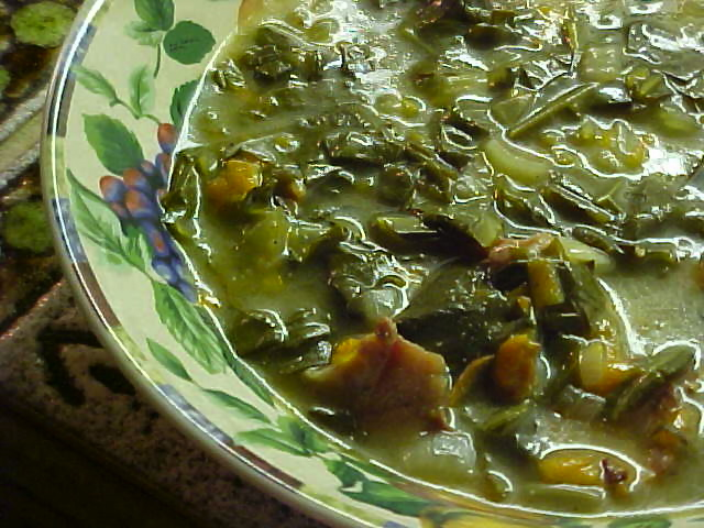 Beasley Farm of Brooksville: Collard Green Soup