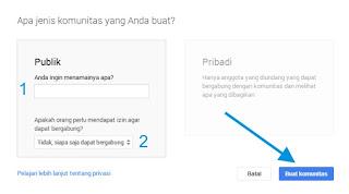Cara Membuat Komunitas Google Plus 4