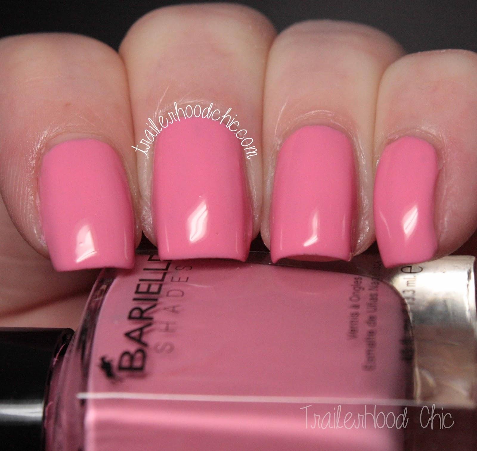 barielle gentle breeze swatches pink parasol
