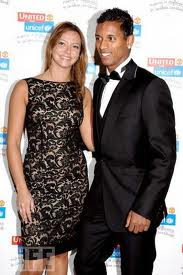 Luis Nani with Girlfriend