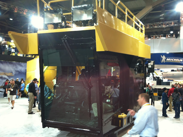 Caterpillar Wire Rope Shovel Cab