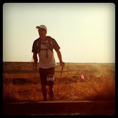 watching kev finish an ultra marathon