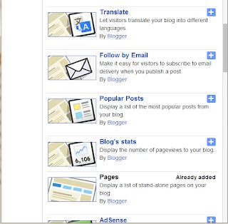 Add Most Popular Posts Widget to Blogger