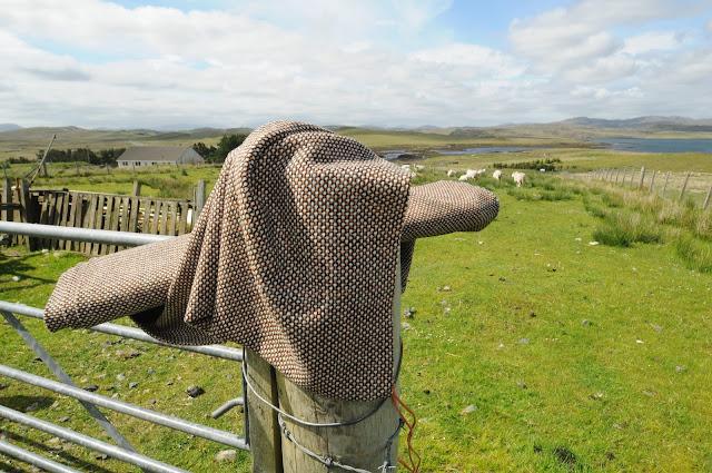 Naturalna wełna Harris Tweed