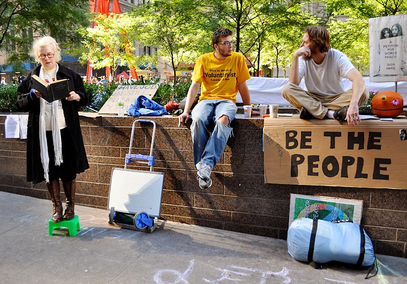Occupy Wall Street; click for previous post