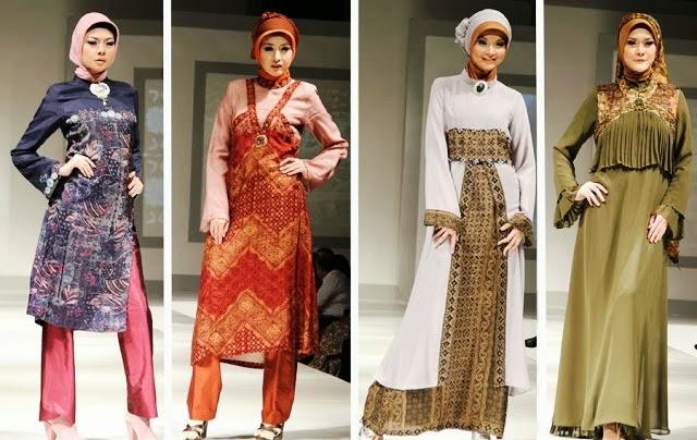 Model Baju Muslim Terbaru 2015