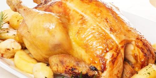 Pollo relleno con Choclo