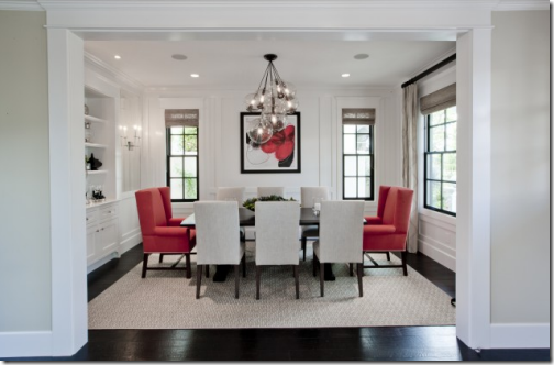 Decorating Ideas For A Red Dining Room