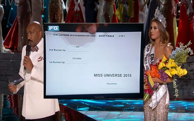VIDEO: Miss Universe Host Steve Harvey Mistakenly Announced Miss Columbia as Winner