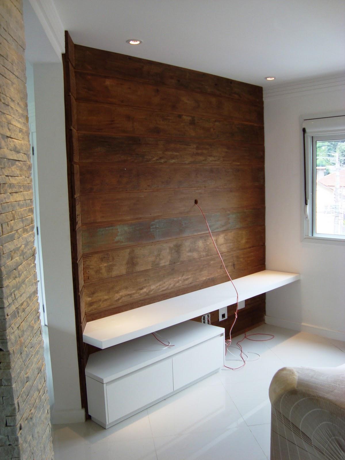 madeira de demolição peroba rosa e prateleira e gaveteiro em MDF #3E271A 1200x1600