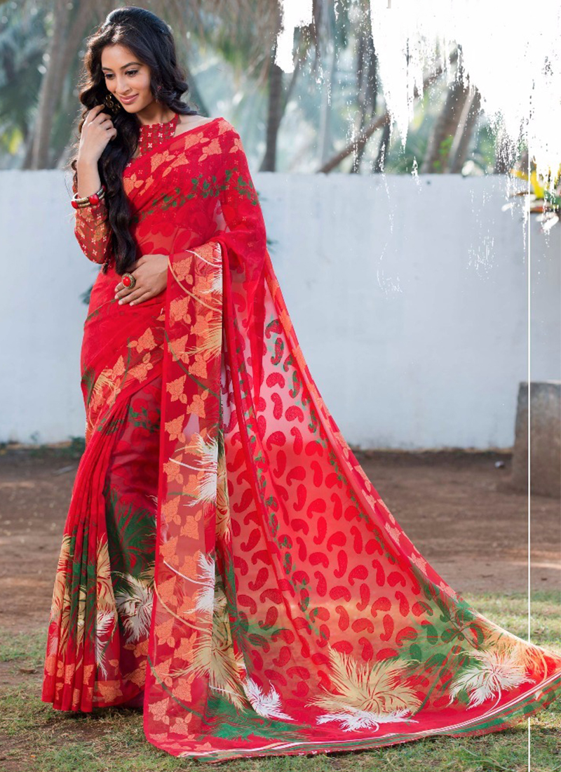 Ethnic Divas Online Ethnic Shop Casual Wear Sarees Collection in